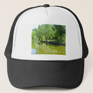 John 14:27 Peace I leave with you... Trucker Hat