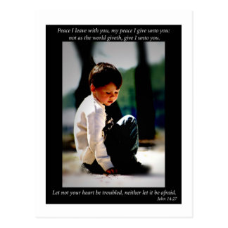 John 14:27 postcard