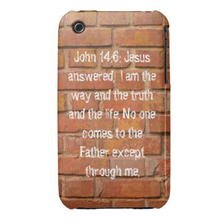 John 14:6 Brick Wall Case Mate Barely There 3G/3GS
