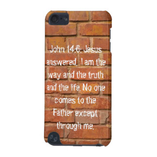 John 14:6 Brick Wall iPod Touch Speck  Case. iPod Touch (5th Generation) Case