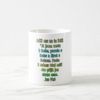 John 14:6 Czech Coffee Mug