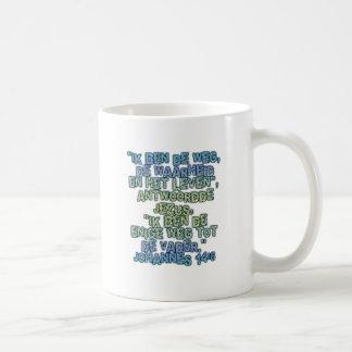 John 14:6 Dutch Coffee Mug
