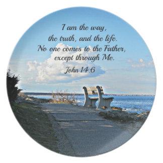John 14:6  I am the way... Plate