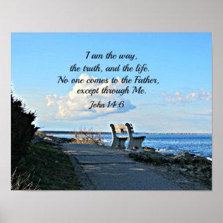 John 14:6  I am the way... Posters
