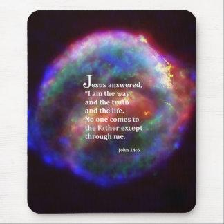 John 14 6 mouse pad