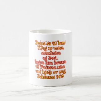 John 14:6 Norwegian Coffee Mug