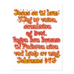 John 14:6 Norwegian Postcard