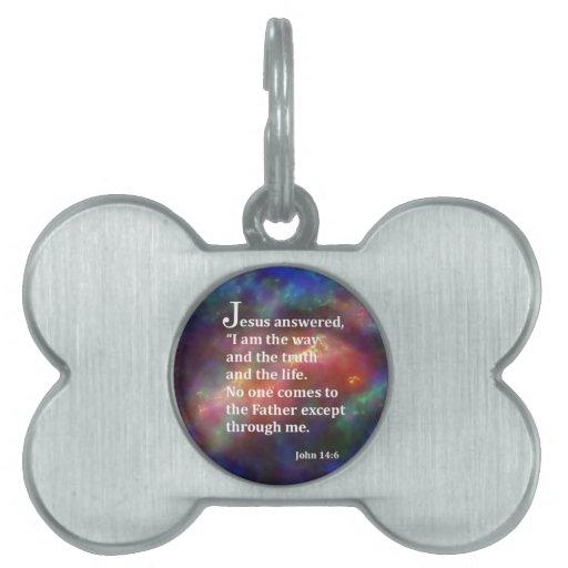 John 14:6 pet ID tags