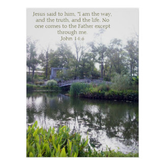 John 14:6 poster
