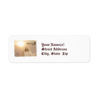 John 14:6 return address label