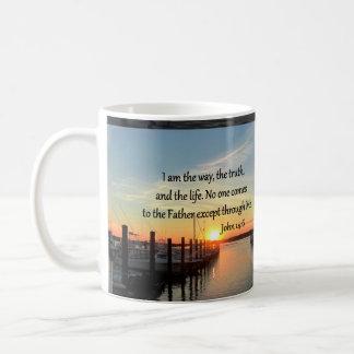 JOHN 14:6 SUNSET PHOTO DESIGN COFFEE MUG