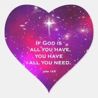 John 14:8 sticker