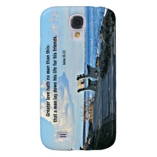 John 15:13 Greater love hath no man than this... Samsung Galaxy S4 Cover