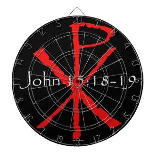 John 15:18-19 dartboard