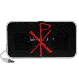 John 15:18-19 speaker