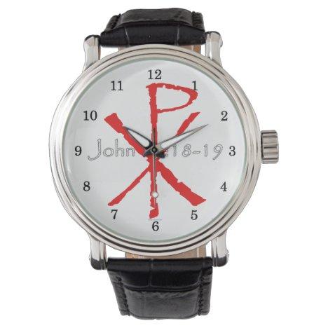John 15:18-19 wrist watch