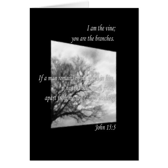 John 15:5 card