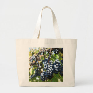 John 15:5 Grapes Vineyard Bag