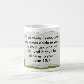 John 15:7 Mug