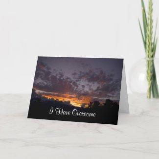 John 16:33 Encouragement Card 2 card