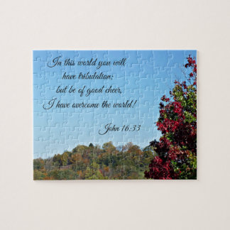 John 16:33 In the world you will have... Puzzles