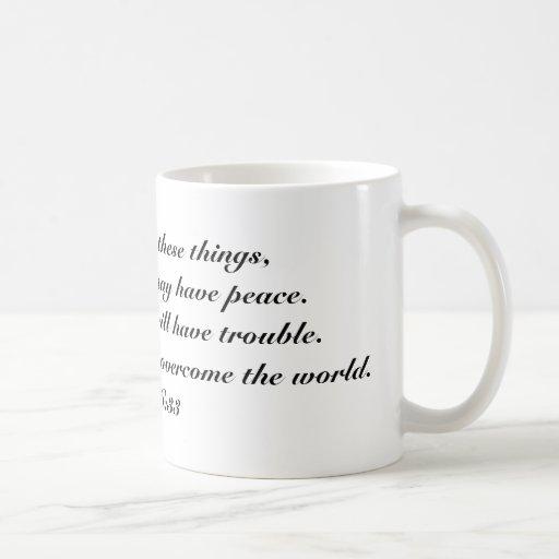 John 16:33 mugs