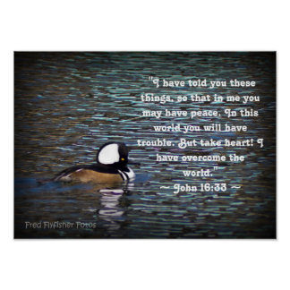 John 16:33 poster