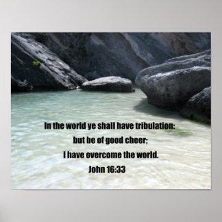 John 16:33 posters