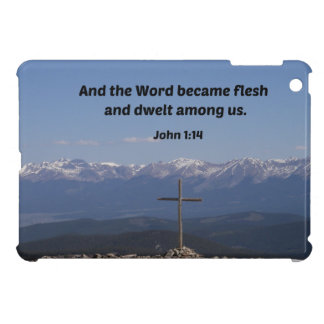 John 1:14 And the word became flesh and dwelt iPad Mini Cover