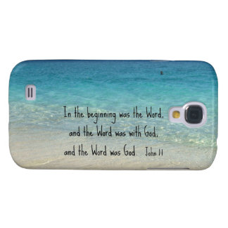 John 1:1 In the beginning was the Word... Galaxy S4 Cover