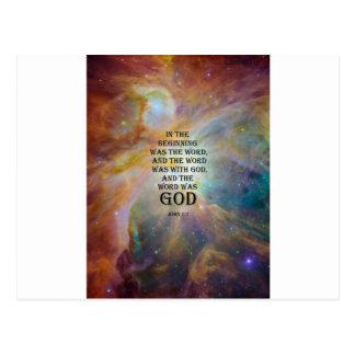 John 1:1 post cards