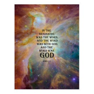 John 1:1 postcard