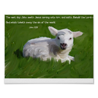 John 1:29 poster
