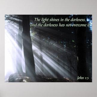 John 1:5 posters