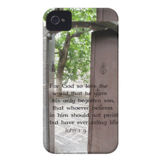 John 1:9 Inspirational and Uplifting Bible Verse Case-Mate iPhone 4 Cases