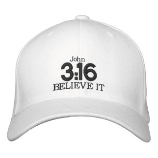 JOHN 3:16 - Baseball Cap