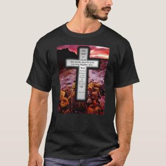 John 3:16 Basic Dark T-shirt