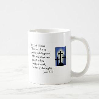 John 3:16 Bible Verse Mug Design
