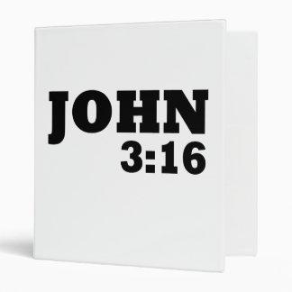 John 3:16 binder