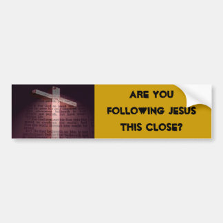 John 3:16 car bumper sticker