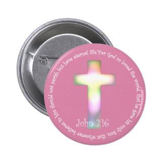 John 3:16 buttons