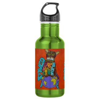 John 3:16 Cat 18oz Water Bottle