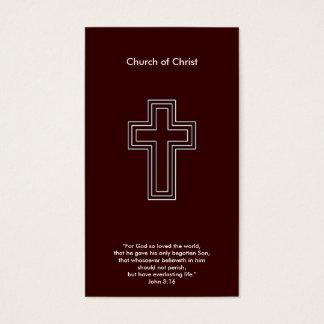 John 3:16   Christian Business Card