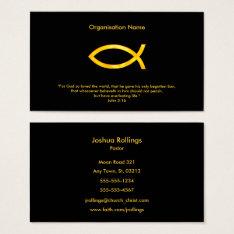 John 3:16 | Christian Business Card at Zazzle