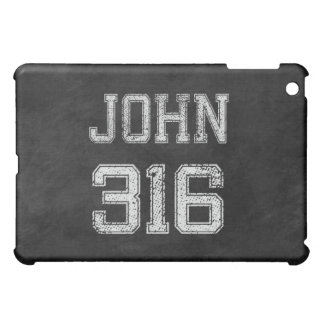 John 3:16 Christian Football Sports Fan Cover For The iPad Mini