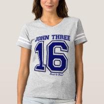 John 3 16 Christian Gospel Scripture tTee Shirt