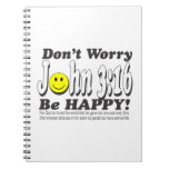 John 3:16 - Don't worry be happy! Journal