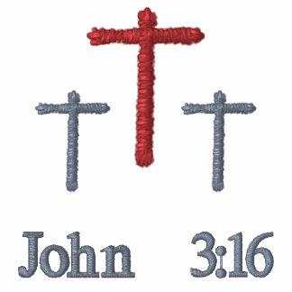 John 3:16 - Embroidered Shirt