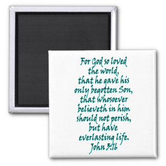 John 3:16 English Magnet