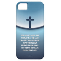 John 3:16 For God So Loved the World iPhone SE/5/5s Case